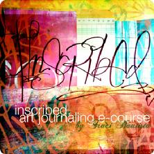 inscribed art journaling e-course by traci bautista